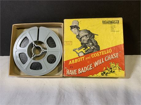Abbot and Costello Have Badge, Will Chase - 16mm Film