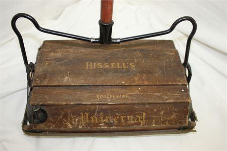 Super Vintage Bissell Carpet Sweeper/Mechanical Broom