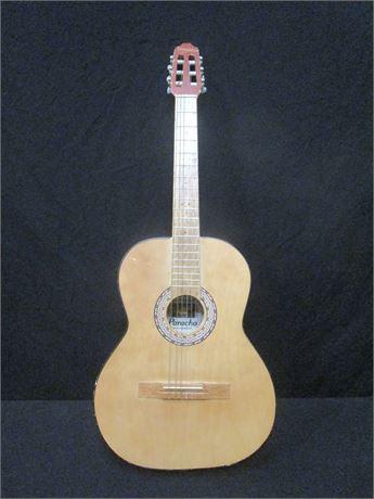 Vintage Paracho Acoustic Guitar Model EC-701 - See Photos
