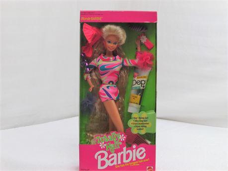 Barbie · Fashion Doll · Totally Hair 1991