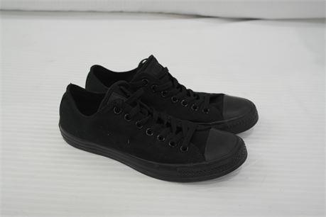 Black Converse Unisex Mens Size 9  Womens Size 11
