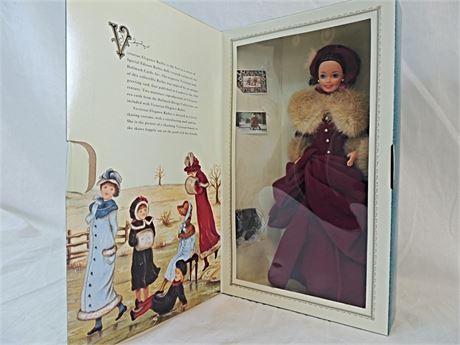 1995 Hallmark VICTORIAN ELEGANCE Barbie Doll #12579 NRFB Mattel