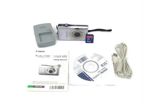 Canon PowerShot SD1300 IS 12.1MP Digital Camera w/ 4GB SD Card (670)