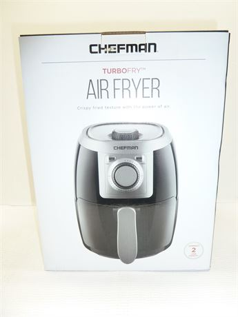 Chefman Turbofry Air Fryer(Crispy Fried Texture With The Power Of Air) NIB