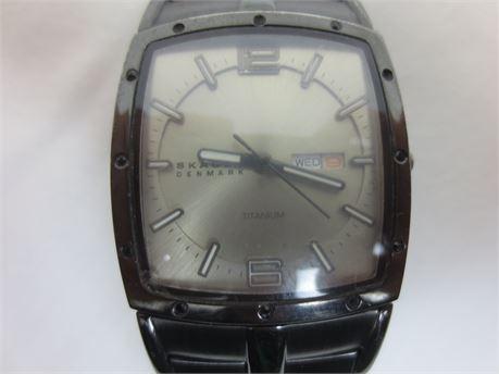 German Made Skagen Titanium Watch