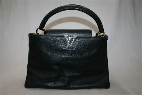 Louis Vuitton Capucines Bag Leather PM, Serial #: 201312