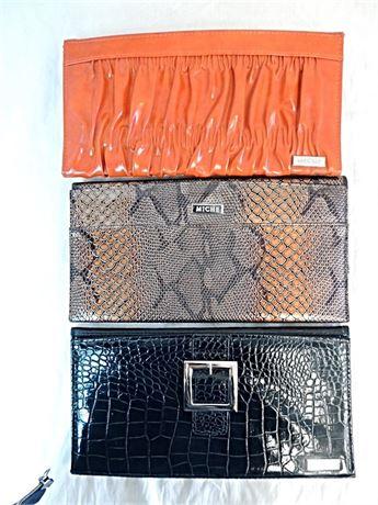 3 Miche Bag Shells - Classic Shells Only - No Bag - Animal Prints & Solid Orange