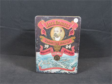 Vintage Jack Daniels Tennessee Whiskey Tin