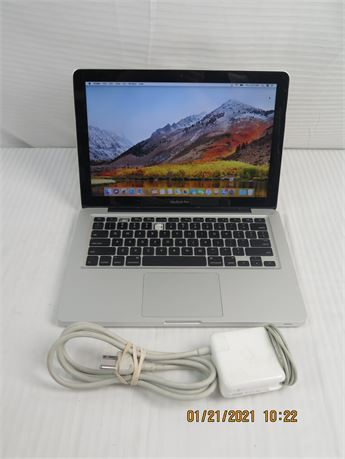 "Apple MacBook Pro 13"" Core i5 1.4 GHz Late 2001 A1278; 500GB, 4GB Laptop"