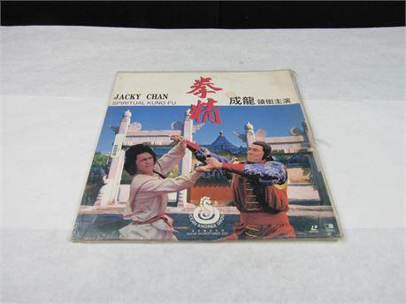"Laser Disc ""Spiritual Kung Fu"" Starring Jacky Chan #MM527 (650)"