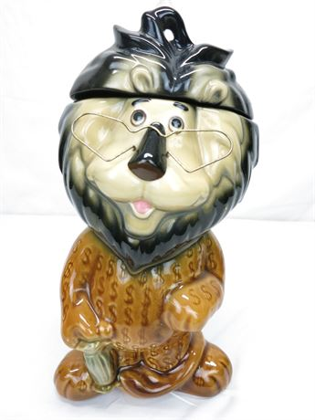 Vintage Harris the Lion by Lefton Collector Cookie Jar