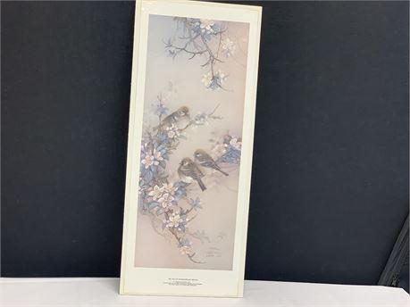 Trio of Sparrows Print