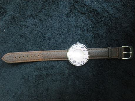 Anne Klein Pink Large Face Watch