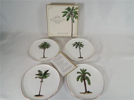 Set of 4 Epicurean Plates (270r2bs1)