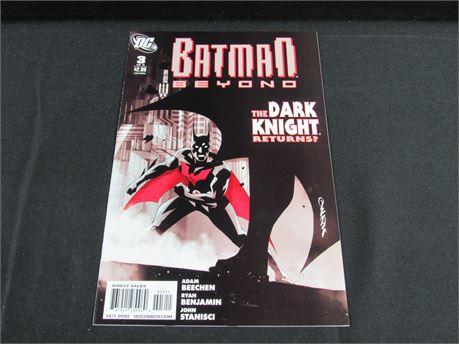 2010 DC Comics - Batman Beyond #3  - The Dark Knight Returns? (650)