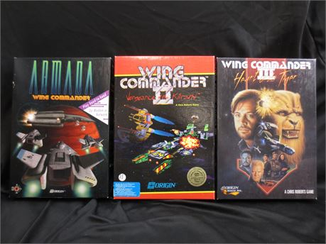 Lot of Wing Commander PC Video Games