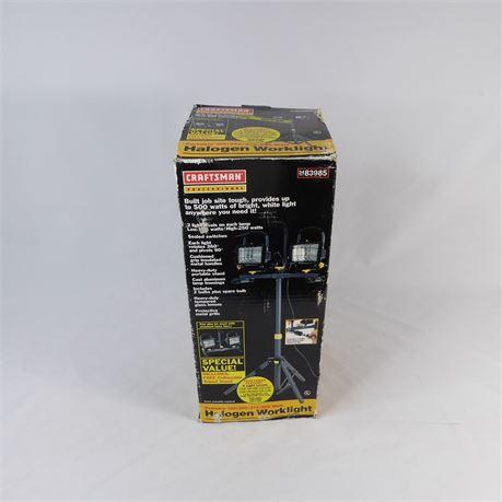 Craftsman Halogen Worklight w/ Stand, 3483985 NEW IN BOX