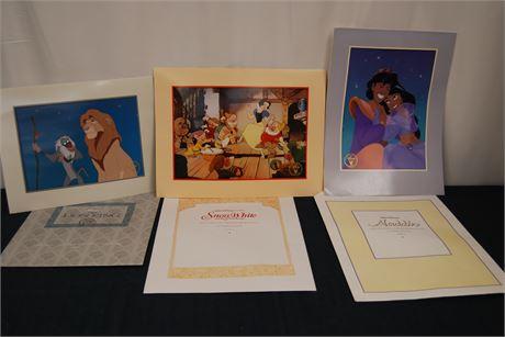Disney Exclusive Commemorative Lithograph (500)
