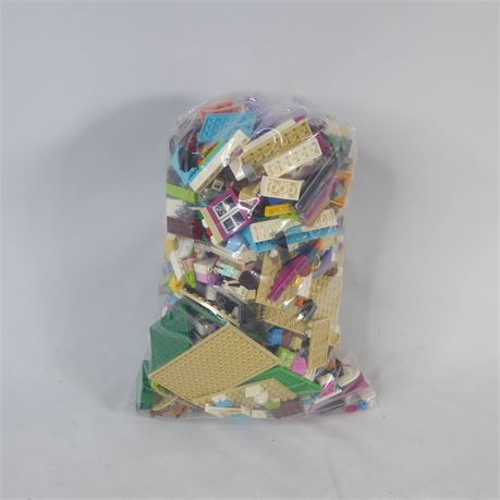 2.2 Pounds Random Lego Parts & Pieces Bricks