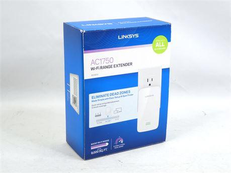 Linksys RE6800 AC1750 802.11ac Plug In WiFi Range Extender |NEW SEALED|