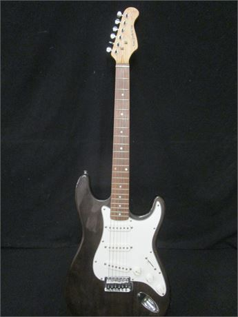 New York Pro Strat Style Electric Guitar Untested