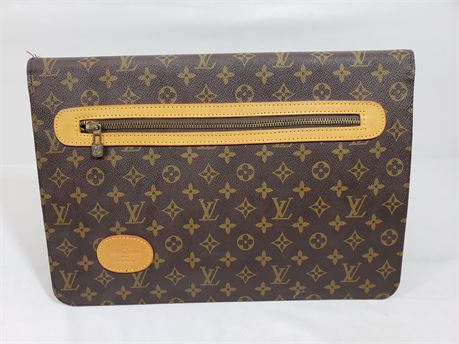 "Louis Vuitton Business Laptop Folder Portfolio. 15"" X 10"" X 1"""