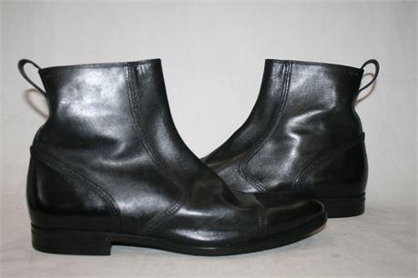 Bally Mens Apron Toe Boots, Model: 07 Nape, Size 10 1/2 M