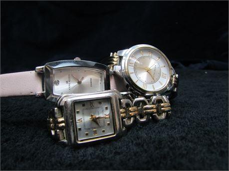 Anne Klein Lot Of 3 Watches