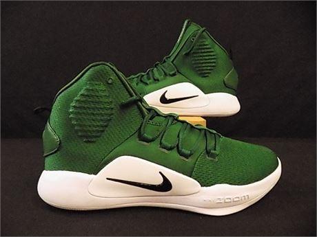 Nike HyperDunk X 'Green White,' Size:14