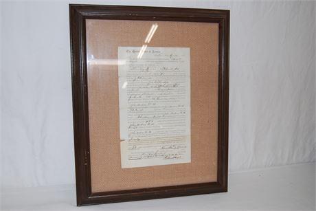 Historical Document 1875 (500)