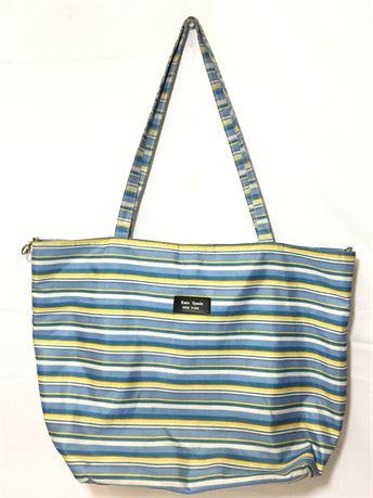 """Kate Spade Stripe Tote Bag 17""""X13""""X2"""""""