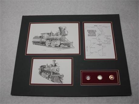 Train Locomotive Art Drawing