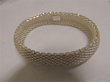 Tiffany & Company 57.2 Gram Sterling Silver Bracelet