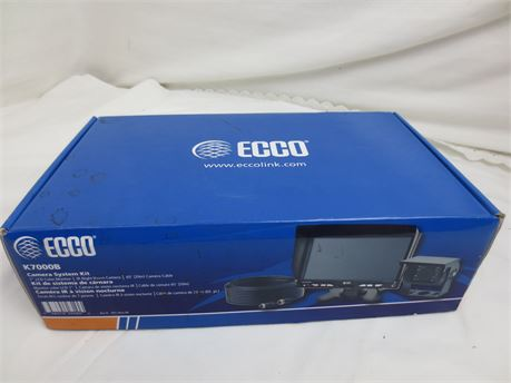New In Box ECCO K7000B Camera System