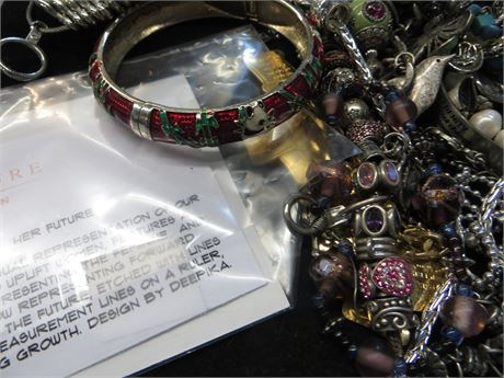 LOT of Assorted Charm Bracelets