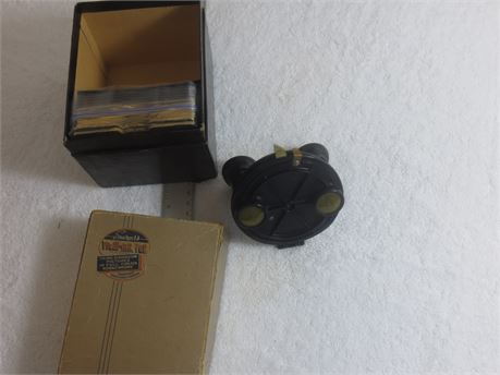 Sawyer's Vintage View-Master with Third Dimension Picture Slides