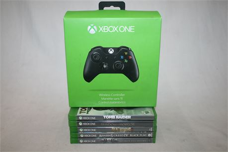 Xbox One Video Games & Controller