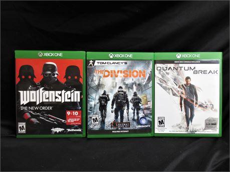 3 Xbox One Games Lot B
