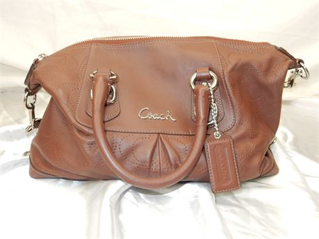 Coach Ashley Perforated Satchel D1182-F17130