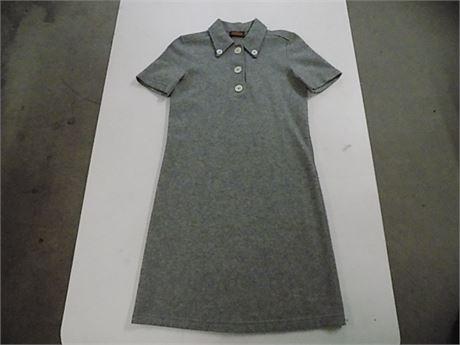 TOD'S 100% Cashmere Grey Dress, Size:S