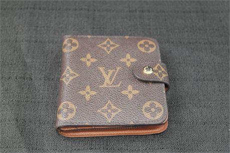 Brown Monogram Womens Wallet