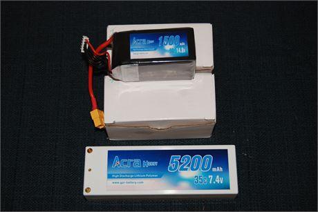 R.C. Batteries (500)