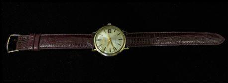 BULOVA AEROJET DATE AUTOMATIC 1966 10kt Gold Filled
