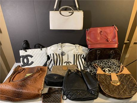 Designer Style Handbags, Purses, Totes