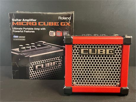 Roland Micro Cube GX - Guitar Amplifier, With Original Box and Manuals