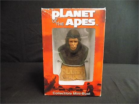 Planet of the Apes Collectible Mini-Bust CORNELIUS 2002