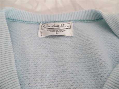 Christian Dior Men's Sweater, Large