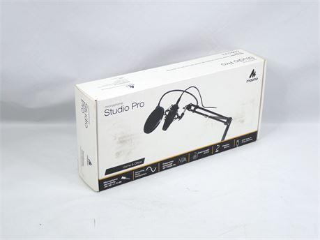 Maono Microphone Studio Pro Condenser Home & Office w/Accessories