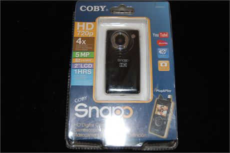 Coby HD720P 4x 5MP Camcorder (500)