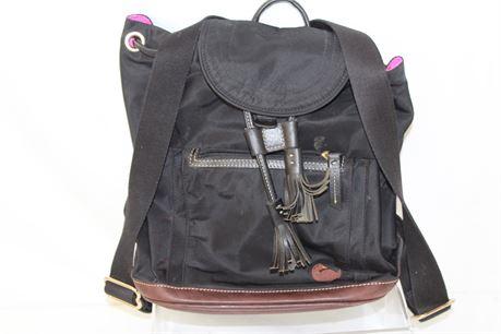 Dooney & Bourke Black Backpack